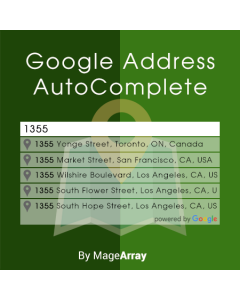 Google Address Auto Complete Demo